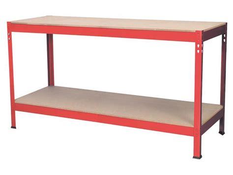 wood top work bench sealey ap1535 workbench 1 53mtr steel wooden top