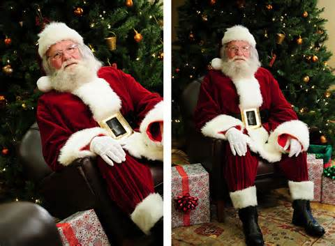 how to take better santa pictures the efficient parent blog