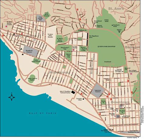 map of port of spain streets 100 map update for in the 2017