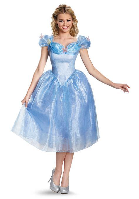 Cinderella Film Costumes | women s deluxe cinderella movie costume