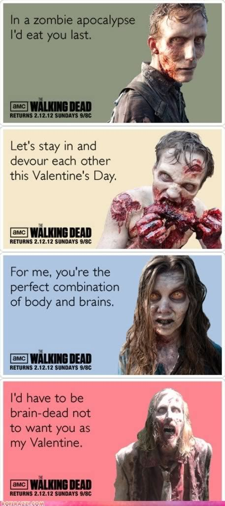 walking dead valentines day meme walking dead quotes quotesgram