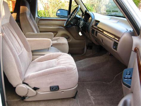 1996 Ford Bronco Interior by 1996 Ford Bronco Interior Pictures Cargurus