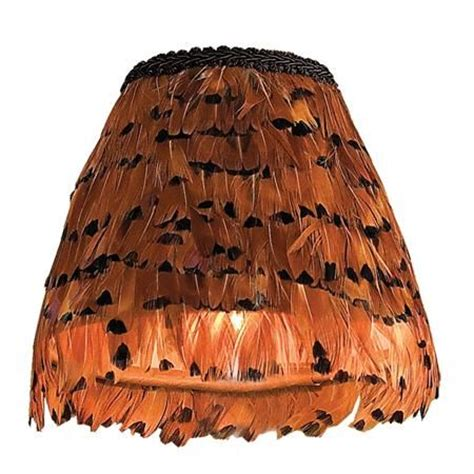 6 quot pheasant feather chandelier shade