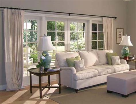 curtain ideas for large windows in living room large living room window treatment ideas