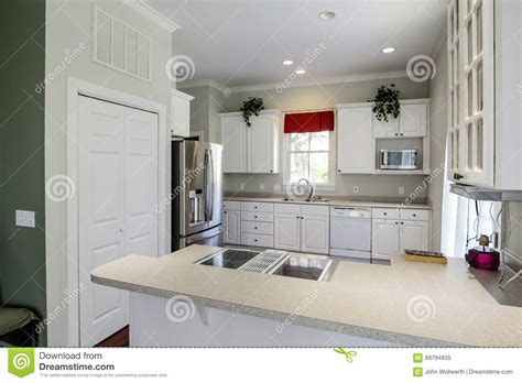 modern open kitchen concept modern open concept kitchen stock photo image 68794935
