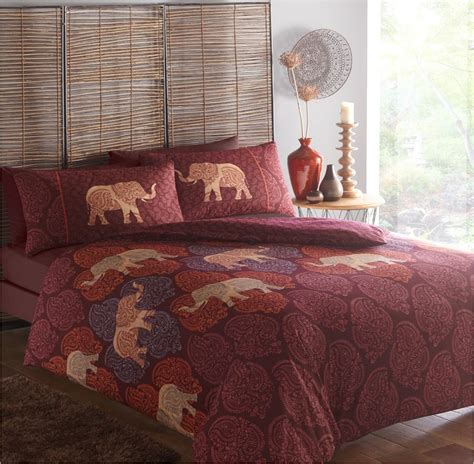 indian bed covers indian style elephant quilt duvet cover pillowcase