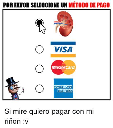 american express pago de tenencia por favor seleccione un metodo de pago o visa mastercard