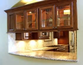 Pass Through Cabinet Kitchens