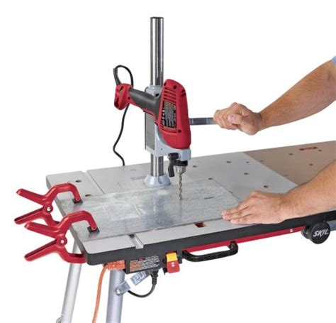 skil work bench skil 3100dp x bench drill press accessory 039725030665 toolfanatic com