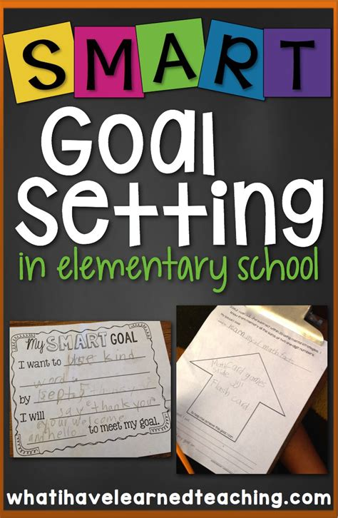 8 goal setting freeware options for helping you meet all student goal setting in elementary school