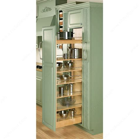 Pantry Slides Hardware by Wood Pull Out Pantry Richelieu Hardware
