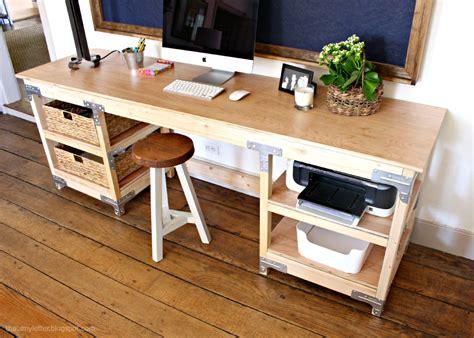 diy custom desk diy home projects inspiration diy done right