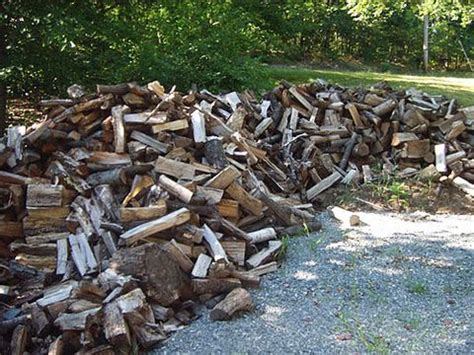 how to stack firewood wood stacking