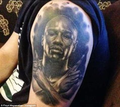 floyd mayweather tattoo floyd mayweather reveals tribute tattoos of adoring fans