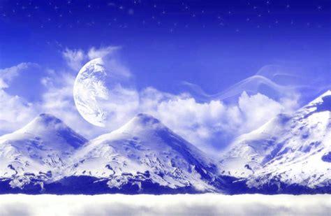 imagenes de fantasia wallpaper fondo escritorio paisaje fantasia nevada