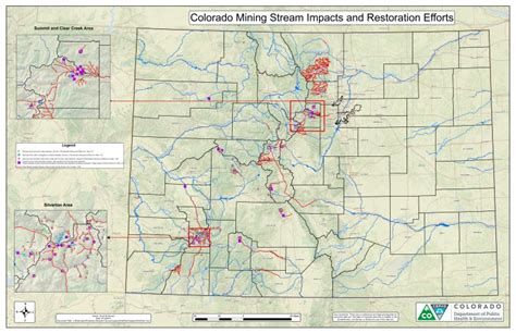 mapping 1 645 of colorado waterways affected by