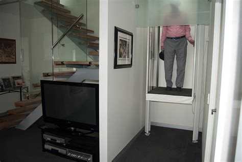Upstairs House by Walk Through Lift The Residential Lift Company
