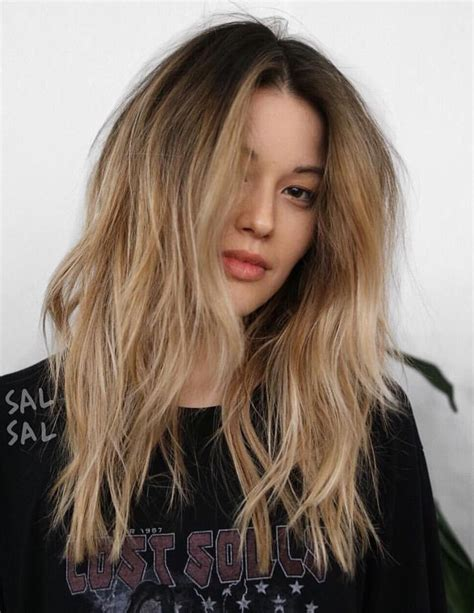 how to achieve dark roots hair style best 25 bleach blonde hair with roots ideas on pinterest