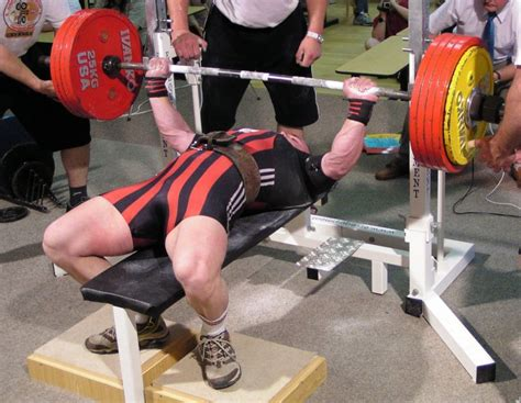 world record for bench pressing the european powerlifting federation