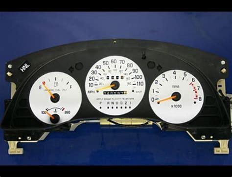 hayes car manuals 1999 chevrolet lumina instrument cluster 1995 1999 chevy lumina monte carlo tach dash cluster white face gauges ebay