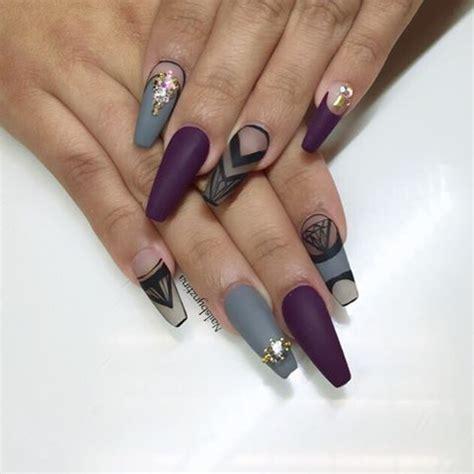 imagenes de uñas negras con azul tendencia en unas color mate 11 curso de organizacion