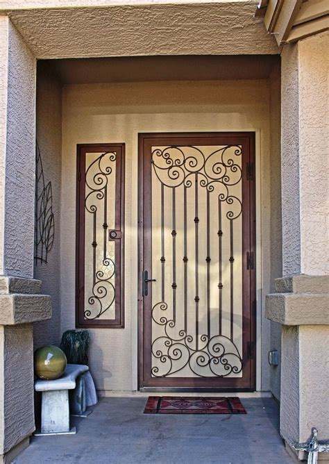 Security Front Doors For Homes Best 25 Security Door Ideas On Security Gates Grill Door Design And Steel Security