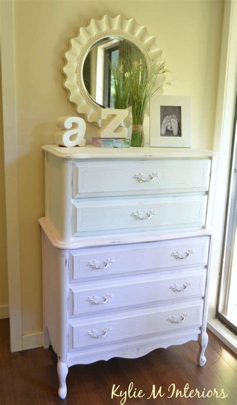 White Chalk Paint Dresser by Painted Dresser Ideas Pink And White Chalk Paint Project