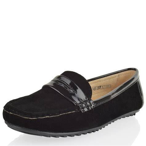 comfortable loafers womens womens ladies loafers office work flat casual comfort
