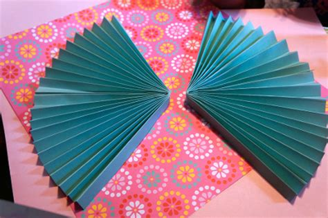 Paper Craft Fan - paper fan birthday decor think crafts by createforless