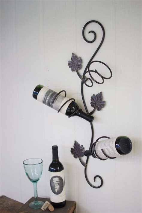 Grape Vine Wine Rack by Room D 233 Cor At West End Furniture Lighting Wall Home