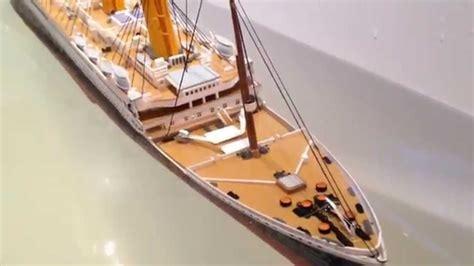 Sinking Of Rms Titanic rms titanic revell 1 400 sinking youtube
