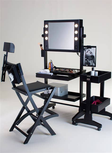makeup table and chair professional vanity table for up artists or up