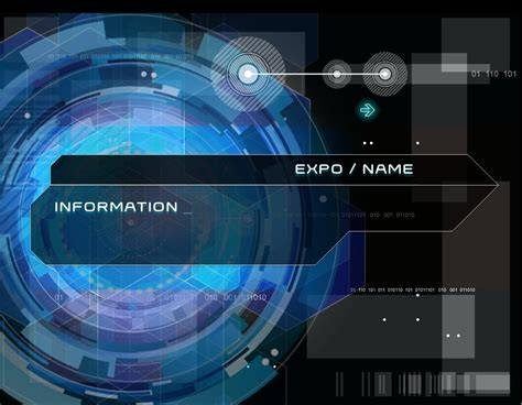 Hitech Powerpoint Template By Evilskills On Deviantart Technology Templates