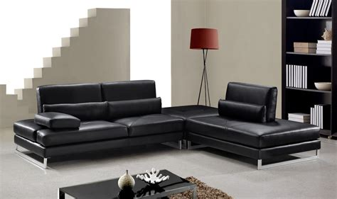 modern leather sofa sectional tango modern leather sectional sofa ge leather