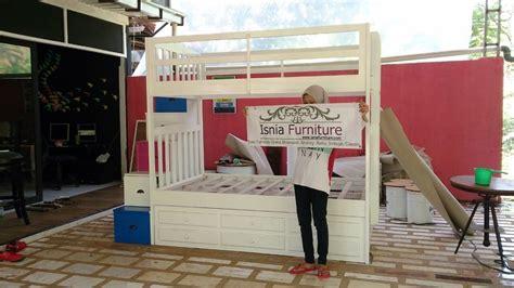 Tempat Tidur Besi Di Bandung tempat tidur tingkat sorong modern desain tempat tidur