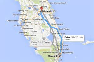 ta florida on a map como ir de miami para orlando de carro t 225 fl 243 rida