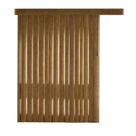 home decorators collection brown suede 4 5 in pvc louver
