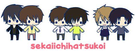 anime chibi editor chibis sekai ichi hatsukoi photo 30132026 fanpop