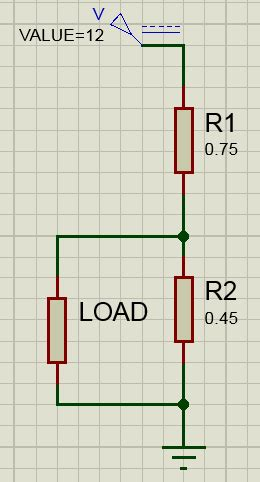 resistors of values 8 12 and 24 are connected in parallel across a fresh battery how to reduce dc voltage using resistors electrical engineering stack exchange