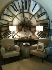 Living Room Clocks by Oversized Clock