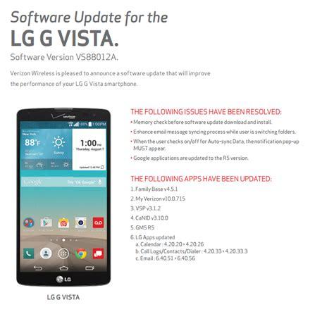 lg  vista  lg  pad  receive  update   stagefright fix