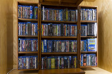blu ray storage cabinet maceace s home theater gallery primary home theater 16