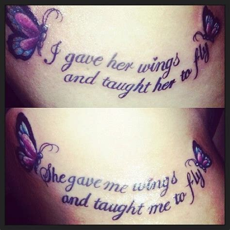 tattoo quotes mother daughter mother daughter tattoos cute quotes quotesgram