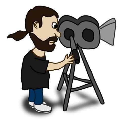 film cartoon gratis free cartoon movie director clip art