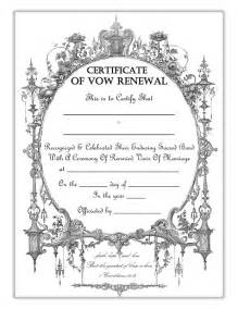 vow renewal certificates trulytruly net