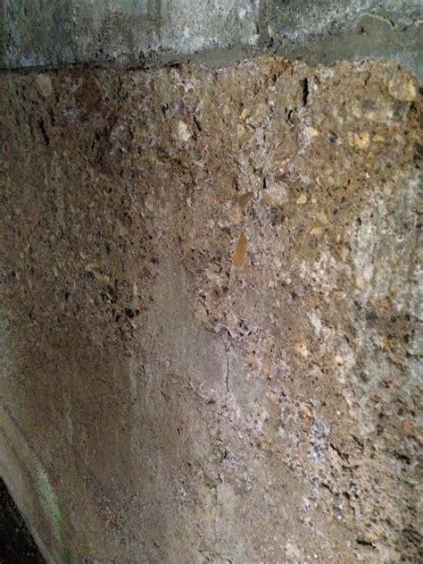crumbling basement walls rooms