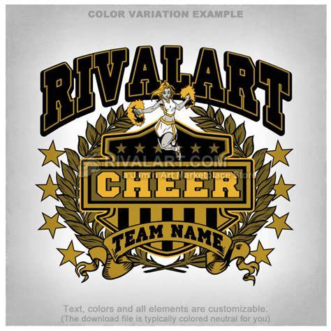 Cheerleading T Shirt Design Template Cheer 100 Rq Cheerleading T Shirt Designs Templates