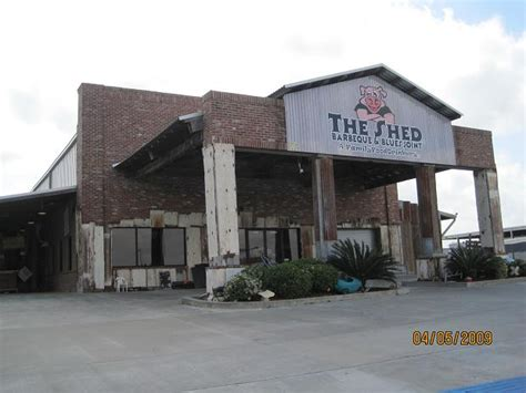 The Shed Bbq Lafayette La by On The Road With Us Caching Boudin Cracklins 4 5 2010