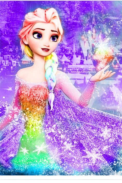Fc Elsa Syarii Pink Dw rainbow elsa world of color u want supplies and highlights