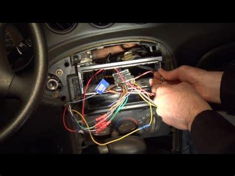 installing  aftermarket car radio youtube